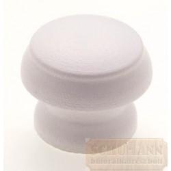 Fehér gomb fogantyú 28mm