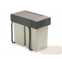 Szelektív hulladék gyűjtő 2x14 liter